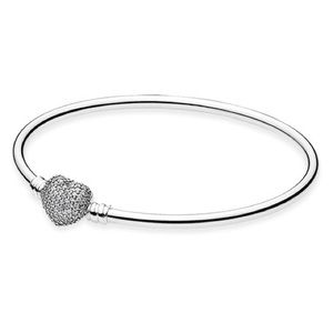 Authentic Pandora Always in my Heart Bangle